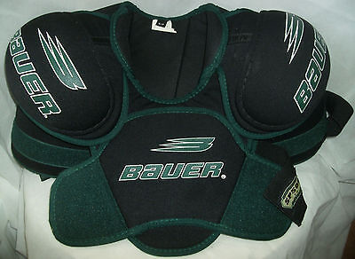 Bauer SP500 Shoulder Pads Ice Hockey Protective Gear Small Senior VGC