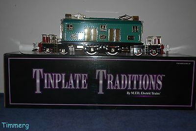 MTH Tinplate 10-1122-0 Presidential  Special Electric Locomotive Blue #SS