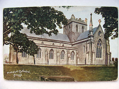 Armagh Northern Ireland Protestant Cathedral Posted1905