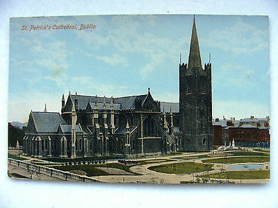 Dublin St. Patrick's Cathedral Postcard Valentine c1920