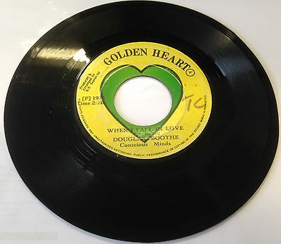 """Douglas Boothe When I Fall In Love Orig Ja 7"""" Killer Lovers Roots With Tuff Dub!"""