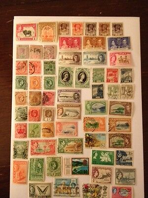 Mixed collection stamps mint and used
