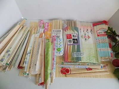 Giant Lot of Packaged Chop Sticks Various Brands Eating Utensils