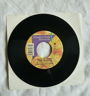 """Prince - The Morning Papers - USA 7"""" - 7-18583"""