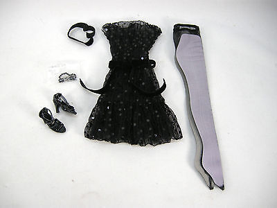 2006 Tonner Tyler Wentworth Outfit Midnight Kiss - Missing Knit Under Dress