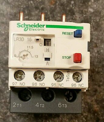 Schneider Telemecanique LR3D16 Thermal Overload Relay 9~13A 3PE