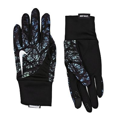 Running Gloves - Nike Womens Dri Fit Tailwind Run Gloves - Touchscreen Thumb