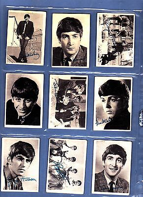 Beatles A&BC Gum Issued 1964 Full Set of 60 see text for more pics