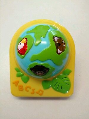 Evenflo Triple Fun Jungle Exersaucer Animal Sounds Globe Toy Replacement NEW NEW