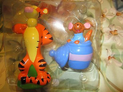 Unused Pooh and Friends Salt and Pepper Tigger and Roo