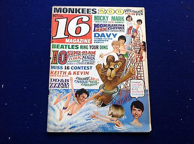 16 MAGAZINE October, 1967 Vol. 9 No. 5 The MONKEES LEWIS & CLARKE EXPEDITION