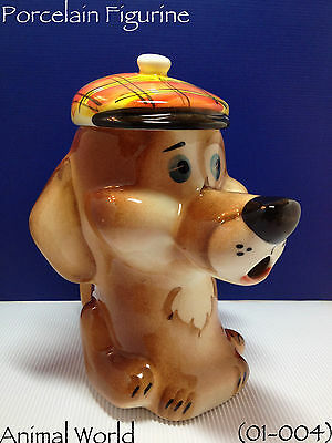 Figurine Dog Dachshund Porcelain Teapot Russian Souvenirs Home Decor Ornament