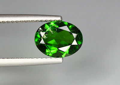 1.90 Cts_Glittering Top Luster_100 % Natural Vivid Green Chrome Diopside_Russia