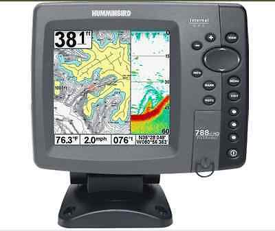 NEW Humminbird 788ci HD Sonar FishFinder GPS Combo with Transducer 83/200