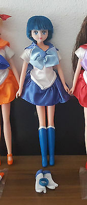 Sailor Merkur Puppe / Sailor Mercury doll - Sailor Moon Vintage toy