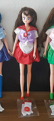 Sailor Mars Puppe / Sailor Mars doll - Sailor Moon Vintage toy