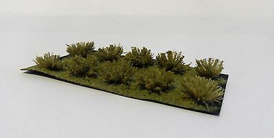 O gauge / 7mm model scenery - Rough grass tufts / sedge clumps
