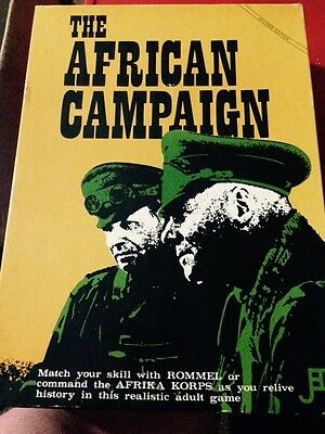 The African Campaign: Second Edition JEDKO GAMES 1978