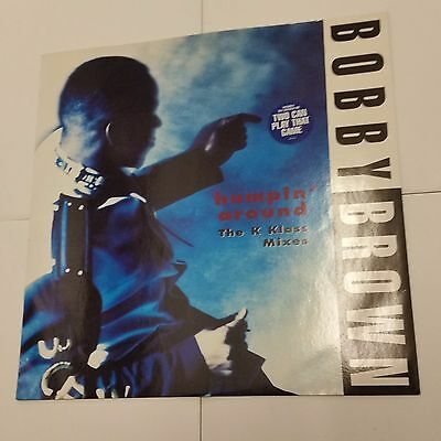 "Bobby Brown ‎– Humpin' Around 12"" Vinyl Club Classic K Klass 1992"