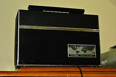 zenith transoceanic royal d7000 sold state portable