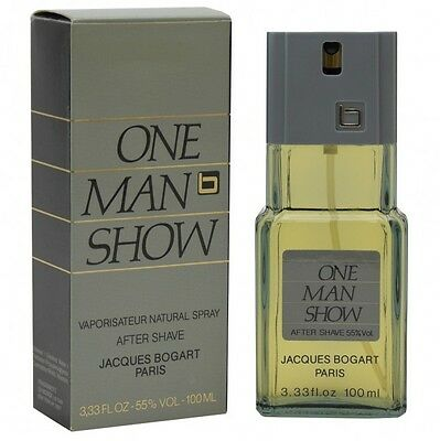 Jacques Bogart One Man Show After Shave Aftershave Spray 100 ml