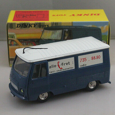 Atlas 1:43 Dinky Toys 570 FOURGON TOLE J7. PEUGEOT Models Diecast