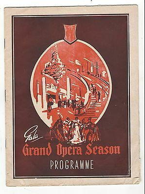 OLD PROGRAMME  JC Williamson Theatre Royal Adelaide 1955 Faust