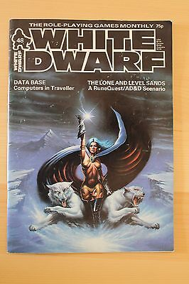 Classic WHITE DWARF issue 48 - UK Role playing magazine Dec 1983 AD&D Runequest