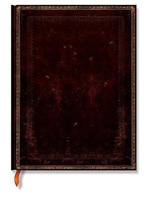 Paperblanks Old Leather Ruled Ultra Notebook - Black Moroccan,  -  - NEW
