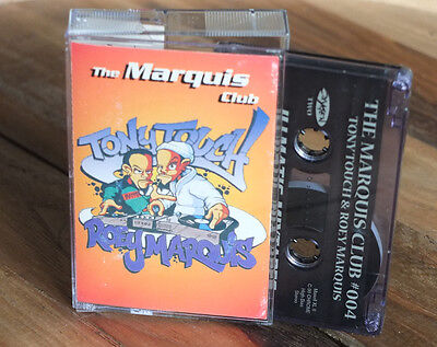 "TONY TOUCH + ROEY MARQUIS ‎– ""The Marquis Club"" Mixtape Cassette DJ 90min"