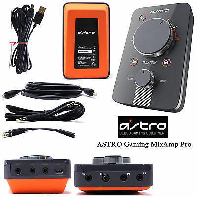Astro Gaming MixAmp Pro 2014 With All Cables for Ps3 Ps4 Xbox Window and Mac