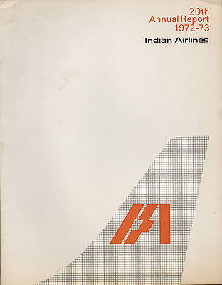 Indian Airlines Annual Report - 1972 / 73