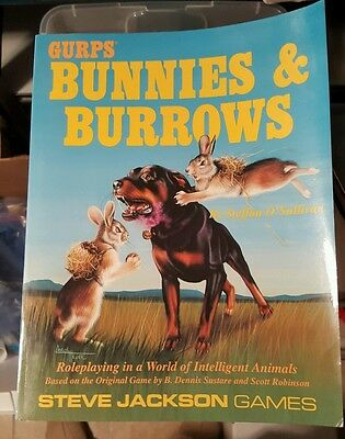 GURPS Bunnies and Burrows