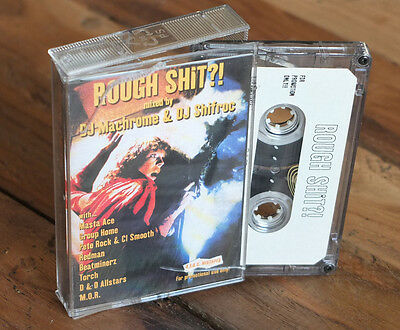 "DJ MACHROME + DJ ‎SHIFROC ""ROUGH SHIT"" Mixtape Cassette Alles für die Cutz AFDC"