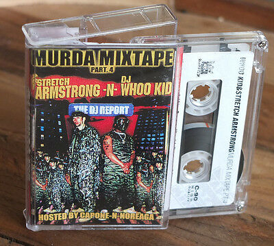 "STRETCH ARMSTRONG + DJ WHOO KID - ""Murda Mixtape 4"" Cassette US Tape Kingz"
