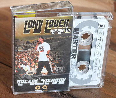 "TONY TOUCH - ""Rockin Steady"" DJ Cassette Mastertapes 90min Mixtape"
