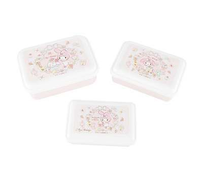 Sanrio My Melody Lunch Case Set of 3
