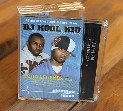 "DJ KOOL KID  -""Hood Legends 5"" - Mixtape Cassette Phlatline"