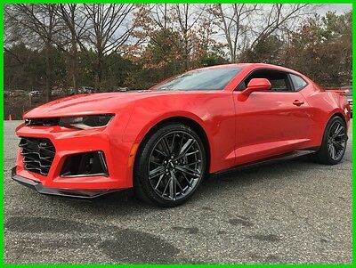 2017 Chevrolet Camaro ZL1-LOADED WILL NOT LAST! 2017 CHEVROLET CAMARO ZL1 EXPOSED WEAVE CARBON HOOD NAVI PERF. DATA & VIDEO