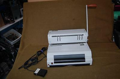 Akiles Coilmac-Eci 41 41Eci Binding Machine Punch With Electric Feeder Footpedal
