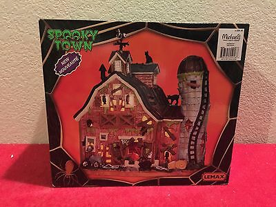 Lemax SPOOKY TOWN DILAPIDATED BARN - Brand New In Box