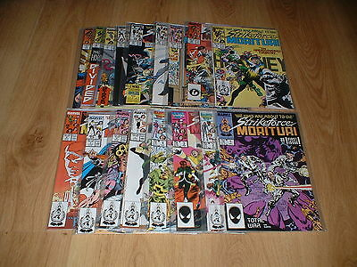 Strikeforce Morituri Issues 1 To 17 (1989 Series)  Collection / Lot. All Vfn/nm