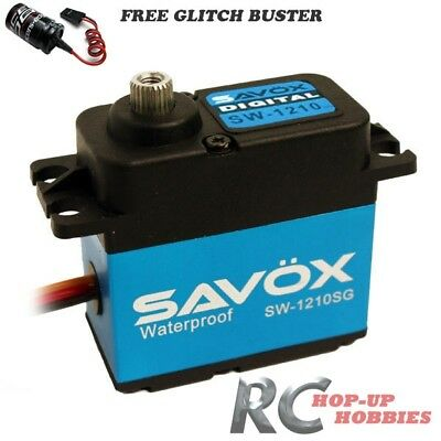 Savox SW-1210SG Tall Waterproof Aluminum Digital Servo Glitch Buster