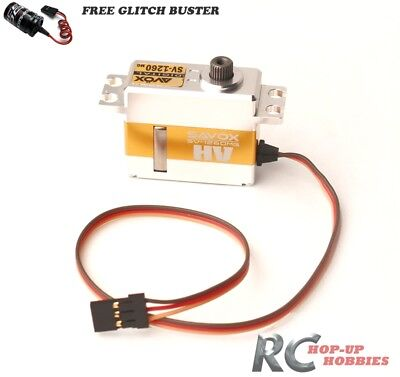 Savox SV1260MG Mini Digital High Voltage Servo Aluminum Glitch Buster