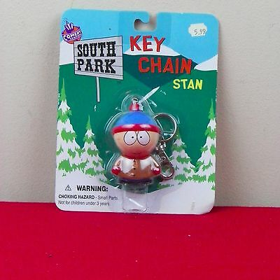 South Park Key Chain Ring NIB Stan Vintage 1998 Comedy Central
