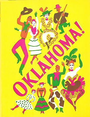 1945 Oklahoma   Theater Musical Play Program  Rodgers And Hammerstein