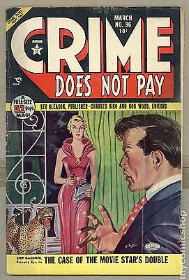 Crime Does Not Pay (1942) #96 GD 2.0