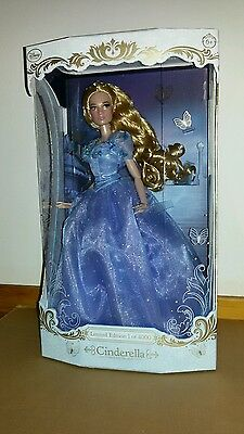 "DISNEY STORE Cinderella limited edition doll LE 17"" - Bambola"