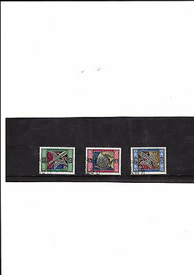 Liechtenstein - 1985 F/used Guards' Weapons And Arrows Set.