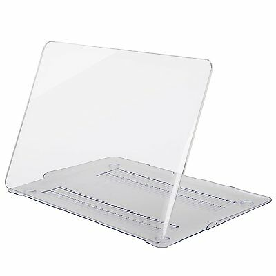 Glossy Crystal Clear Case Cover for MacBook Pro 13/15 Retina Air 11 +Screen Film